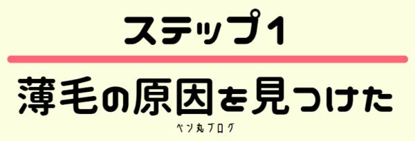 東京でAGA治療や薄毛治療を行うために、薄毛やハゲの原因を見つける
