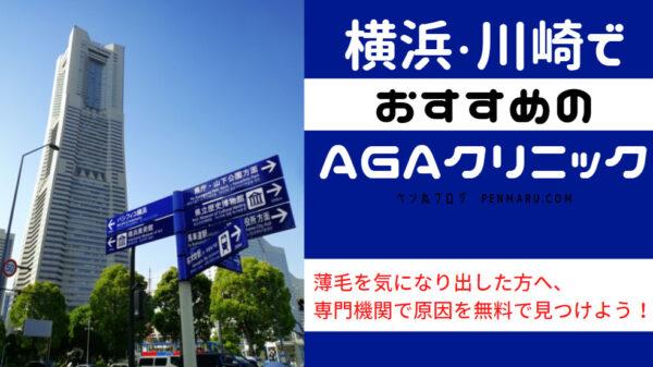 AGA治療を神奈川県・横浜、川崎でおすすめのAGAクリニック!薄毛の原因を無料で見つけよう!