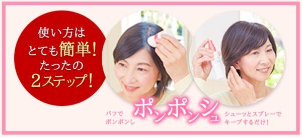アートミクロンで女性の薄毛や頭皮を簡単に隠す